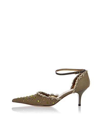 1 To3 Zapatos de tacón Joanie Verde Caqui