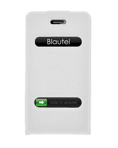 Blautel iPhone 4/4S Funda 4-Ok Slim Fit V Blanco