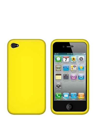 Blautel iPhone 4/4S Funda Silicolor Amarillo