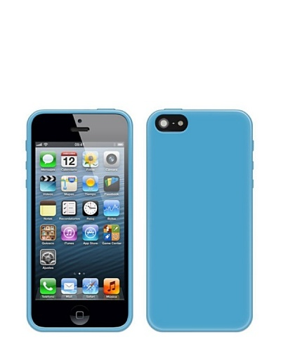 Blautel iPhone 5 Funda 4-Ok Protek Colors Azul