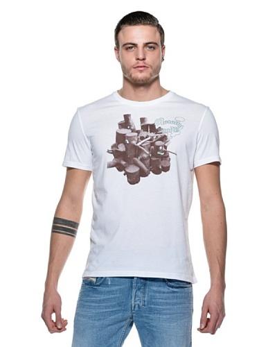 Diesel Camiseta Wood Blanco