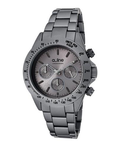 A Line AL20050GR – Reloj Unisex movimiento de cuarzo con brazalete metálico Gris