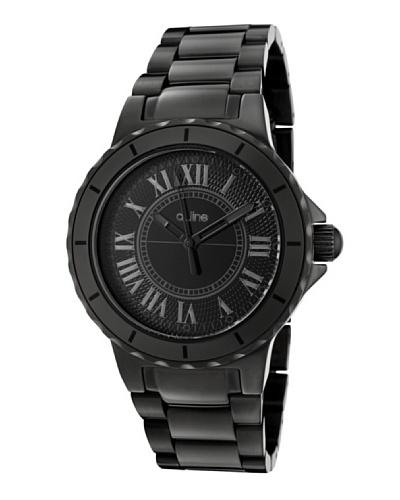 A Line AL20016 – Reloj Unisex movimiento de cuarzo con brazalete metálico Negro