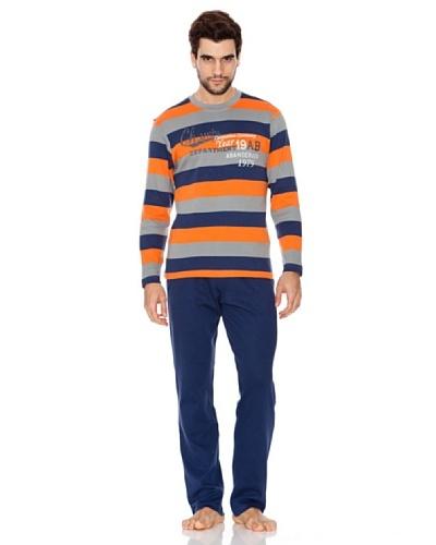 Abanderado Pijama Champs Naranja / Azul