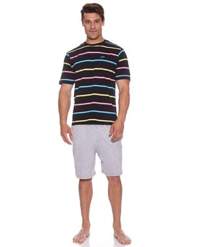 Abanderado Pijama Strip Multicolor