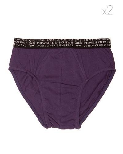 Abanderado Slip Neo Junior 2 Pack2 Violeta