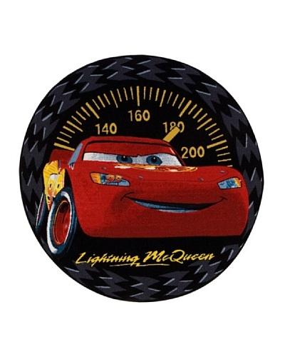 ABC Alfombra Cars Speed Rug Negro/Rojo