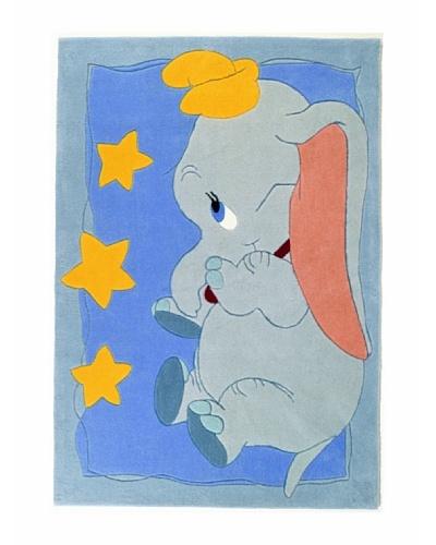 ABC Alfombra Dumbo Multicolor