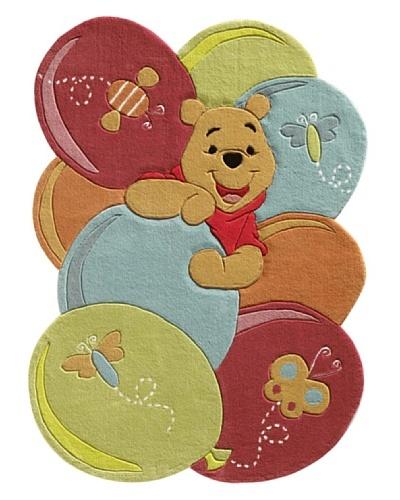 Abc alfombra walt disney winnie the pooh mi moda estilo - Alfombra winnie the pooh ...