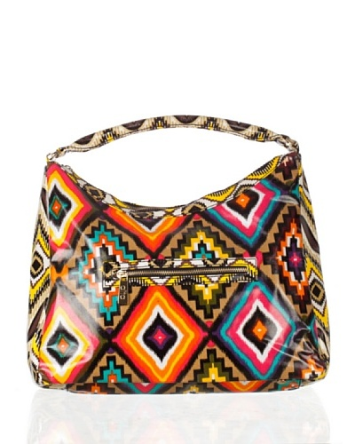 Aïta Bolso Hobo Estampado Ikat Multicolor