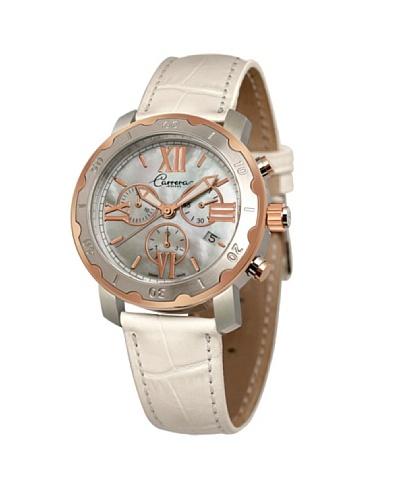 Carrera 88300 – Reloj de Señora movimiento de cuarzo con correa de piel Nácar
