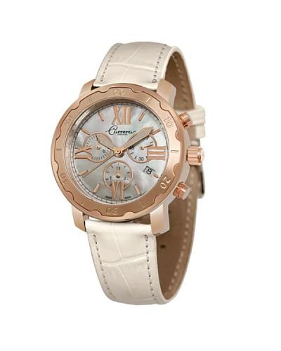 Carrera 88200 – Reloj de Señora movimiento de cuarzo con correa de piel Nácar