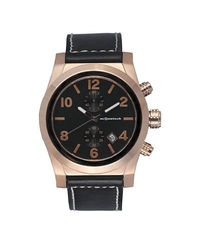 Acquatech ACQ003RGNRNR – Reloj  Señora   cuarzo  correa  piel Oro Rosa / Negro