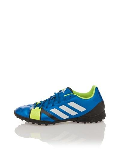 adidas Zapatillas Football Nitrocharge 3.0 TRX TF Azul / Amarillo Flúor