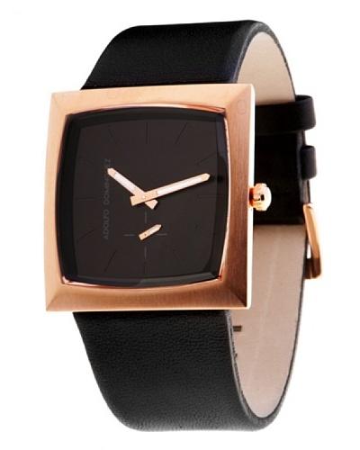 Adolfo Dominguez Watches 63062 – Reloj de Caballero cuarzo correa piel Negra