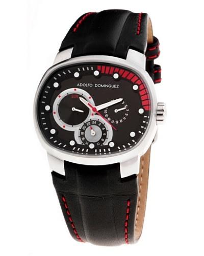 Adolfo Dominguez Watches 70059 - Reloj Unisex cuarzo correa piel dial Negro