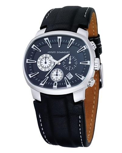 Adolfo Dominguez Watches 70053 – Reloj Unisex cuarzo correa piel Negra