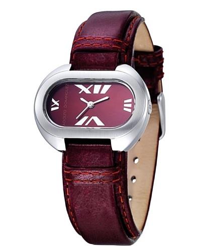 Adolfo Dominguez Watches 69003 - Reloj Señora Granate
