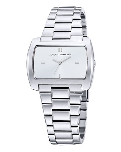 Adolfo Dominguez Watches 69017 - Reloj Señora Plata