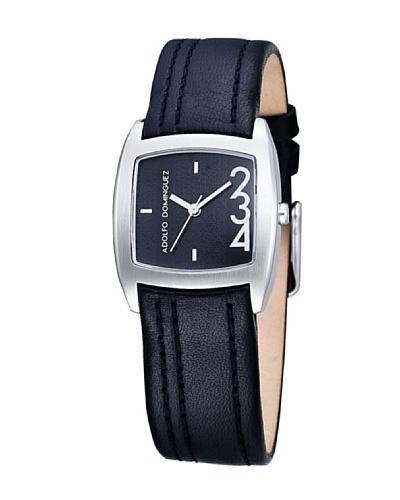 Adolfo Dominguez Watches 69039 – Reloj de Señora cuarzo correa piel Negra