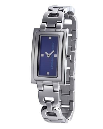 Adolfo Dominguez Watches 69013 - Reloj de Señora cuarzo brazalete metálico dial Azul