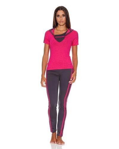 Adriana Arango Conjunto de Top, Camiseta  y Legging