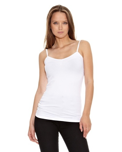 Aeropostale Camiseta Tirantes Basic Blanco