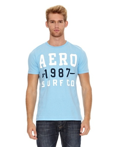 Aeropostale Camiseta Aéro1987 Surf Azul