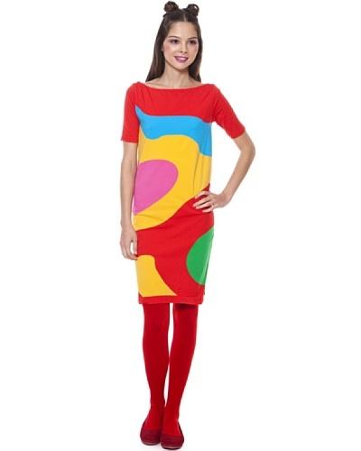 Agatha Ruiz de La Prada Vestido Abstract