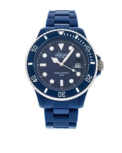 al&co Reloj Carbonplast Azul