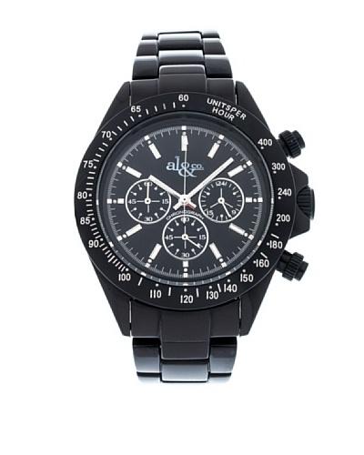 al&co Reloj Alluminium Negro