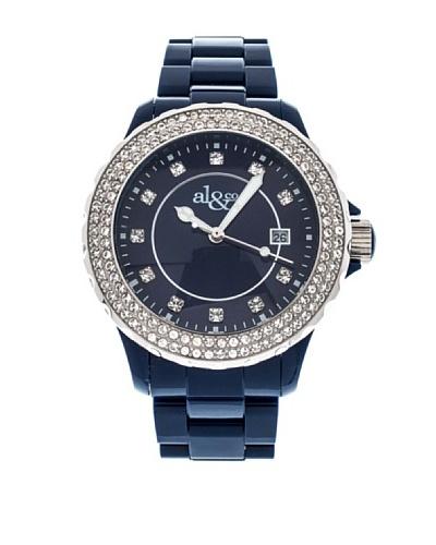 al&co Reloj Black And White Azul
