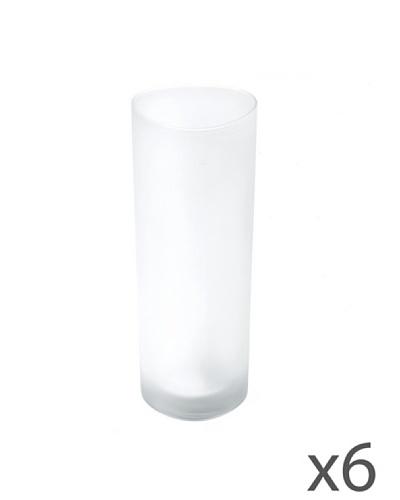 Alessi Set de seis Vasos para Champagne Colombina Collection
