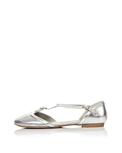Alex Silva Zapatos Ankle Strap Closed Toe 2-Parts T-Bar