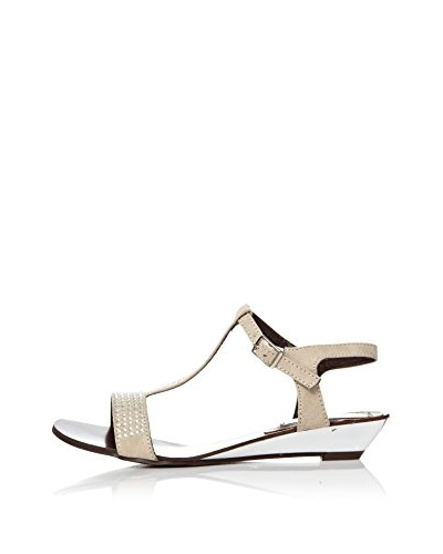 Alex Silva Sandalias Wedge Ankle Strap T-Bar