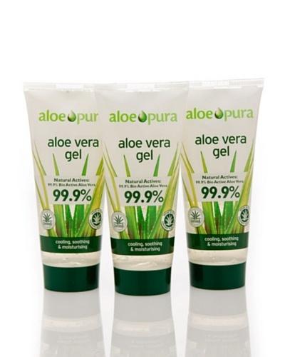 Dr.Organic Set 3 Unidades Gel Puro Corporal Aloe Vera 200 ml (u)