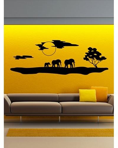 Ambiance Live El Paisaje Y Los Elefantes De África