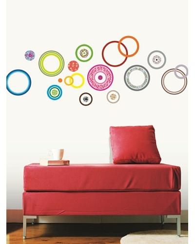 Ambiance Live Vinilo Adhesivo Círculos Diseños Multicolor