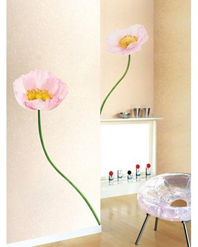 Ambiance Live Vinilo Adhesivo Longitud De La Gran Flor: 160 Cm