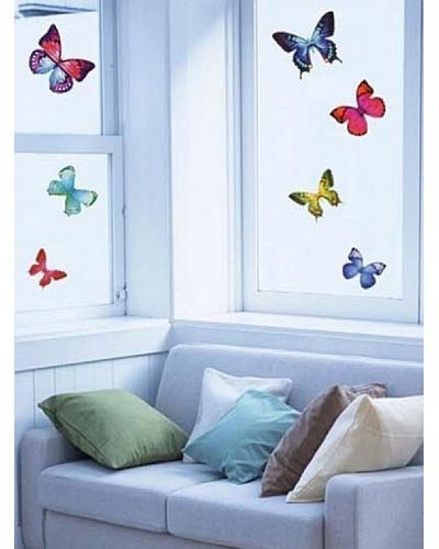 Ambiance Live Vinilo Adhesivo Mariposas Exóticas Multicolor