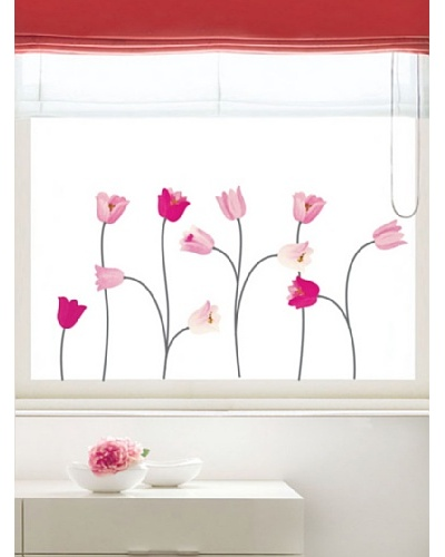 Ambiance Live Pink Poppy Flowers Wall Decals