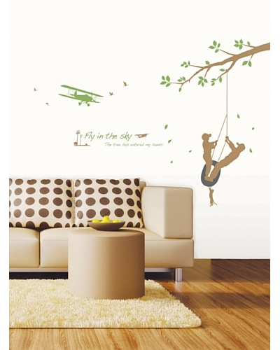 Ambiance Live Fly In The Sky Wall Decal