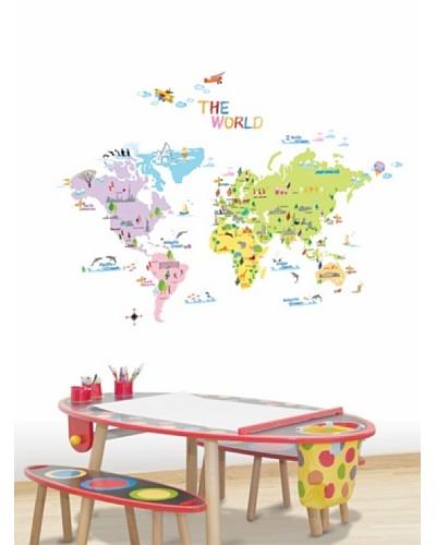 Ambiance Live Mapa Del Mundo Para Los Niños