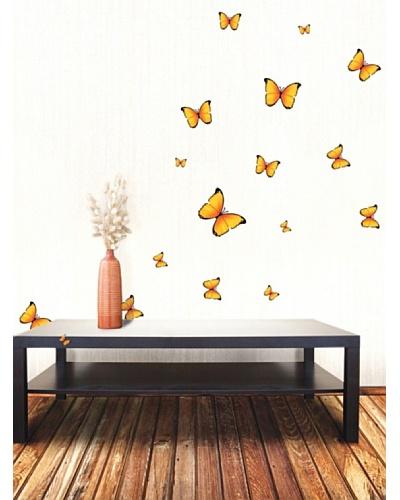 Ambience Live Vinilo Mariposas Amarillas Amarilla