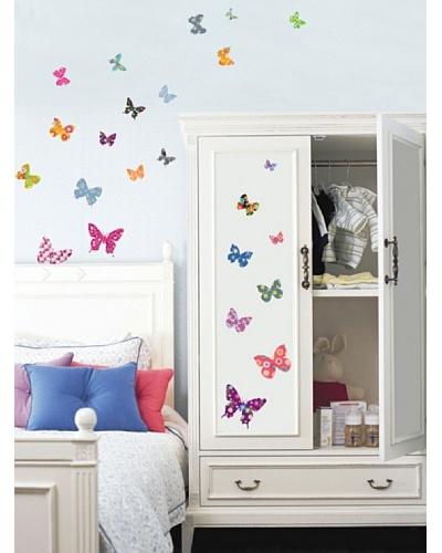 Ambience Live Vinilo Mariposas Multicolores