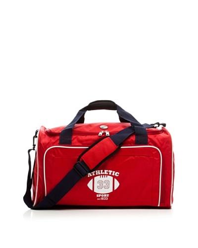 American Tourister Bolsa de Deporte Pequeña At Fireball rojo