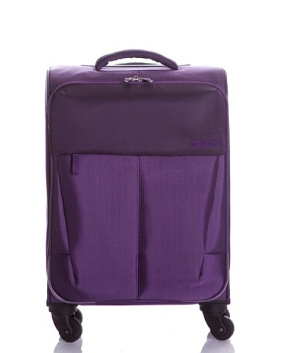 American Tourister Spinner Pequeño Genoa Purple