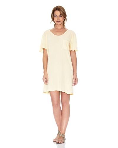 American Vintage Vestido Oversize Amarillo