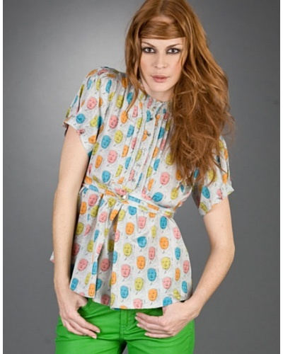 Andy Warhol By Pepe Jeans Camisa Agnes Gris