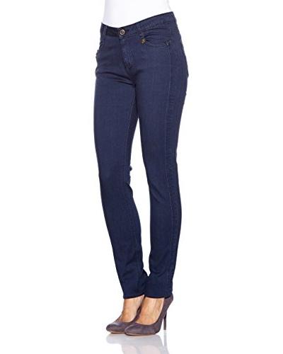 Anna Scott Jeans Point Skinny Azul Oscuro